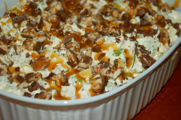 Caramel Snickers - Finished