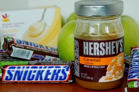 Caramel Snickers - Ingredients