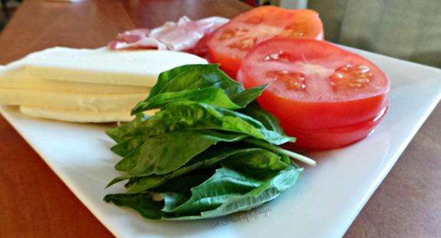 Caprese Ciabatta Ingredients