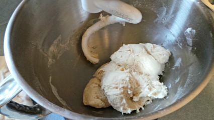 Italian Bread - Making the Dough