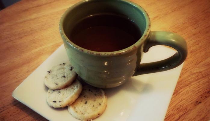 Cookies and tea