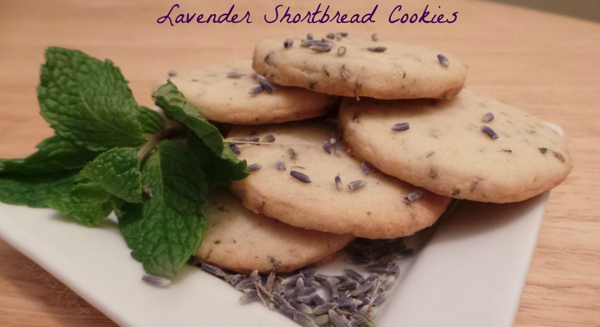 Lavender Shortbread Cookies | An Aromatic Delight