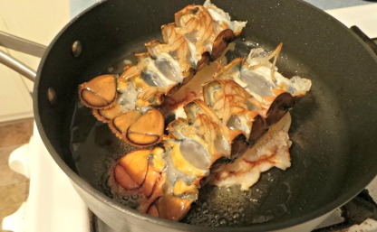 Lobster Tails - Cooking