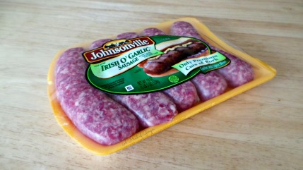 Pork Sausage and Colcannon - Irish O'Garlic Sausage.jpg