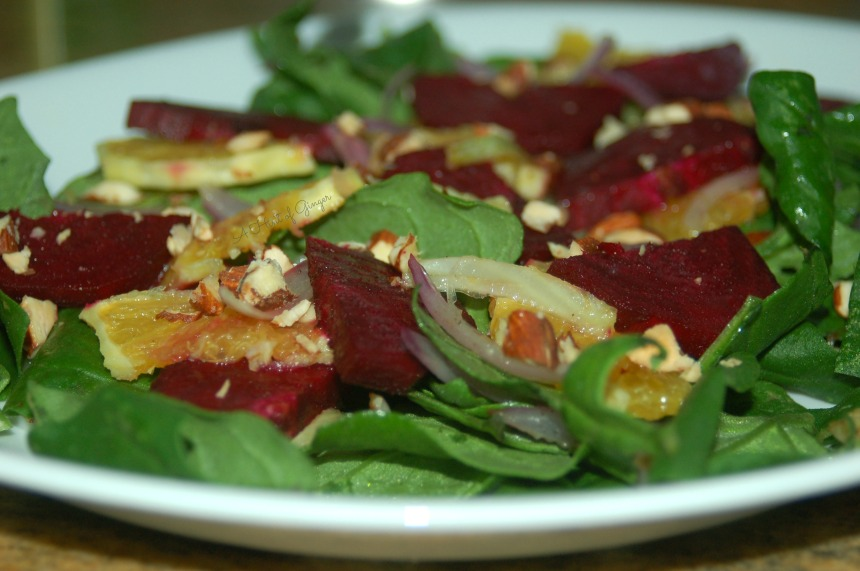 Beet, Orange, and Fennel Salad