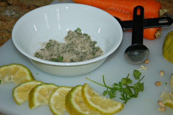 Coriander and Lemon Chicken Ingredients - For Noodle Soup