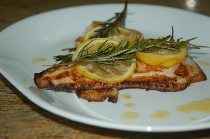 Lemon and Rosemary Pan-Seared Tilapia - Bon Appetit