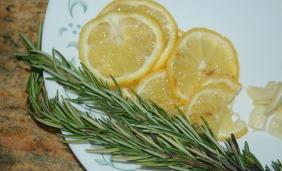 Lemon and Rosemary Pan-Seared Tilapia - Fresh Ingredients