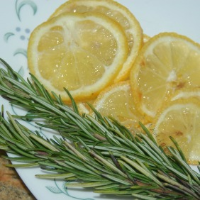 Lemon and Rosemary Pan-Seared Tilapia - Fresh Ingredients