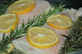 Lemon and Rosemary Pan-Seared Tilapia - In the Pan