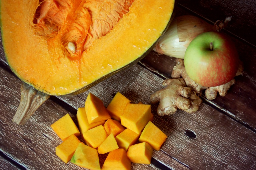 Crockpot Pumpkin Soup - Ingredients