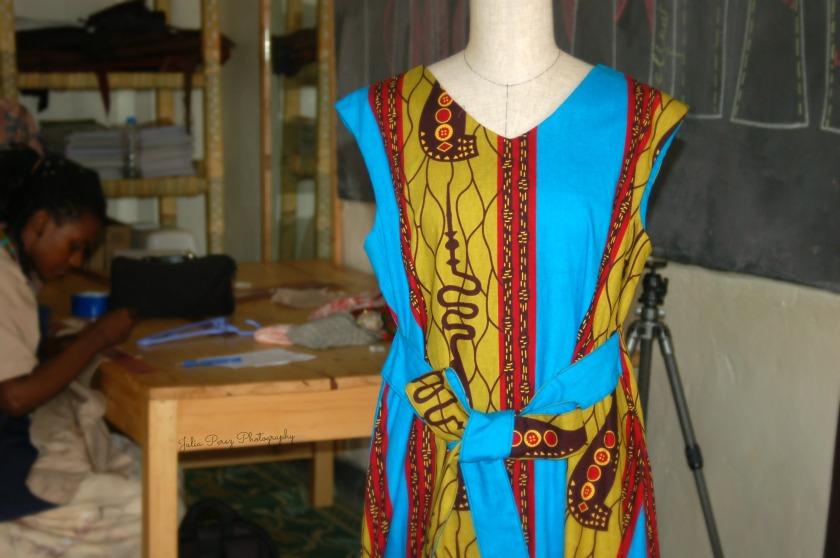 Kyoto Reborn - Women's Dress Displayed