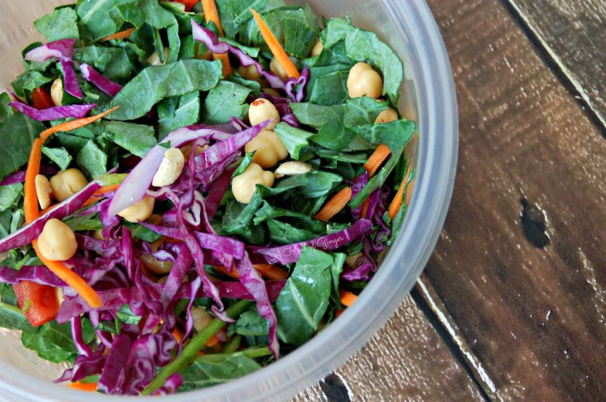 Bring Your Lunch to Work - Kale Power Salad
