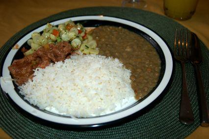 Ecuadorian Meal JPP