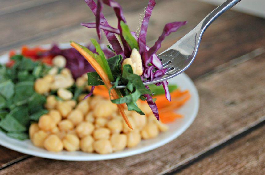 On a Fork - Kale Power Salad