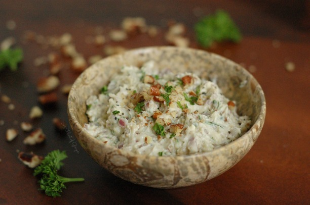 Blue Cheese and Pecan Spread 2