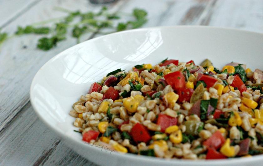 Roasted Vegetable and Farro Salad 2