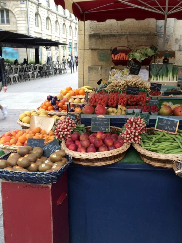 Bordeaux Produce Stand