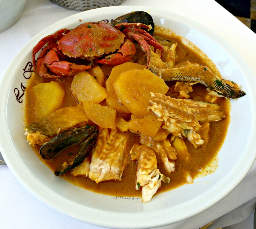 Marseille Bouillabaisse in Broth
