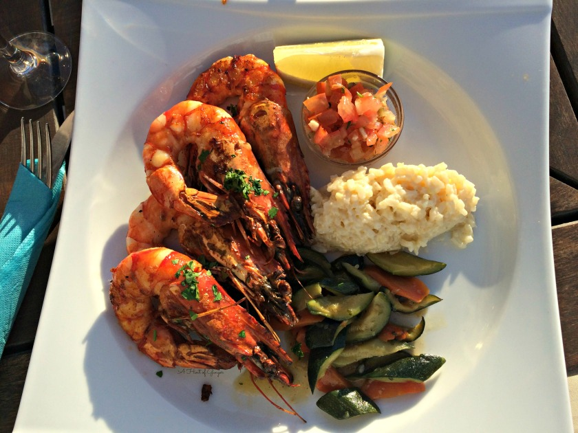 Marseille Head-on Shrimp with Risotto